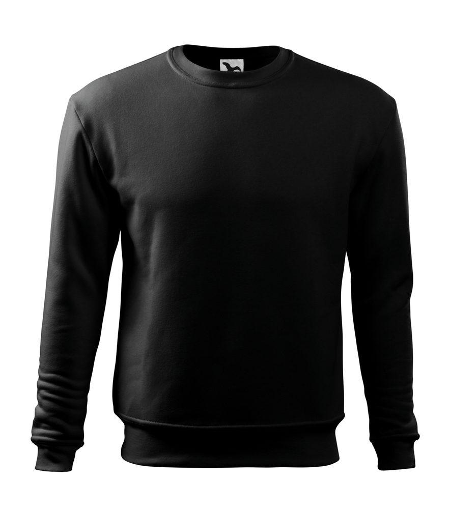 Adler Pánska/detská mikina Essential - Černá | XL