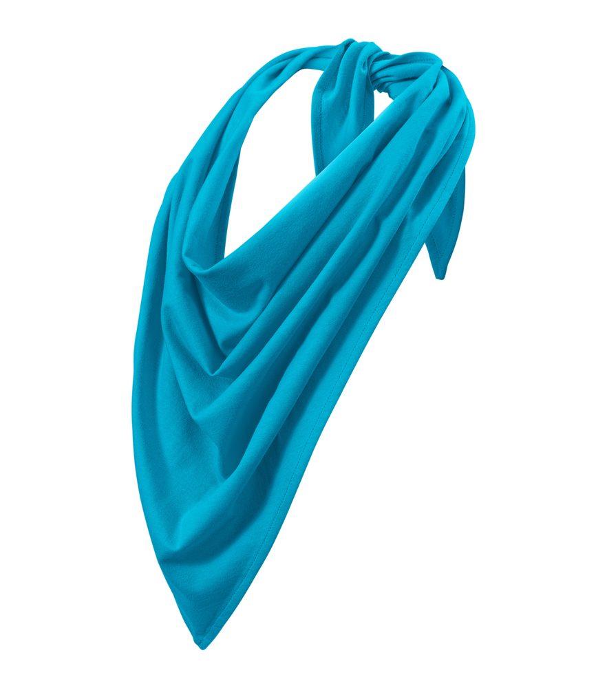 Adler (MALFINI) Šátek Fancy - Tyrkysová | uni