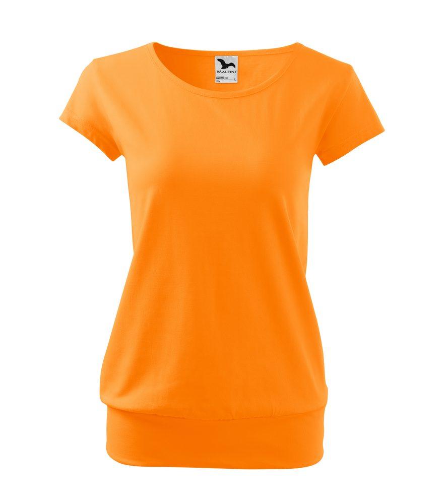 Adler Dámske tričko City - Mandarinkově oranžová | M