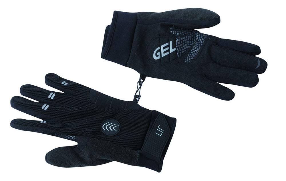 Zimní cyklistické rukavice JN335 - Černá | S