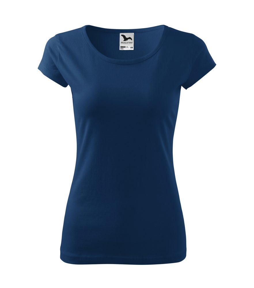 Adler Dámske tričko Pure - Půlnoční modrá | M