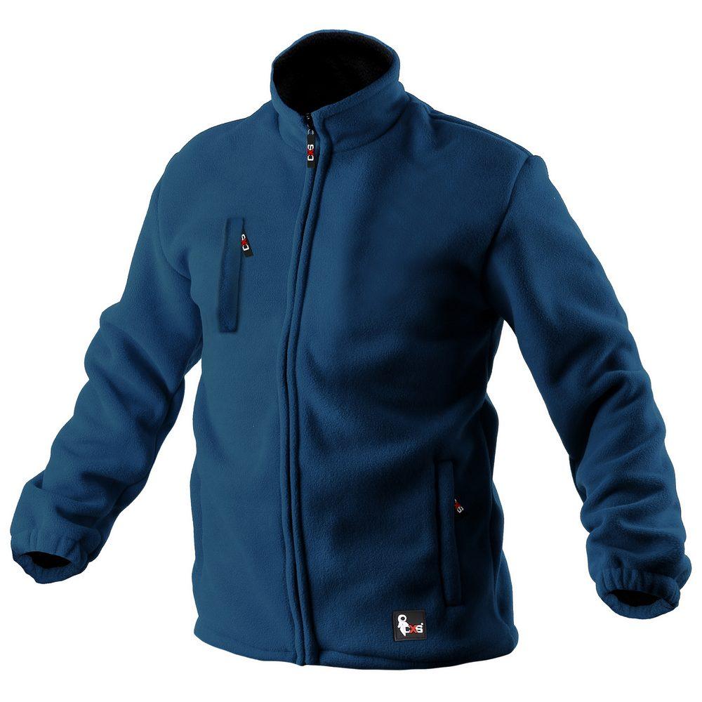 Canis Pánska fleecová bunda OTTAWA - Modrá   XL