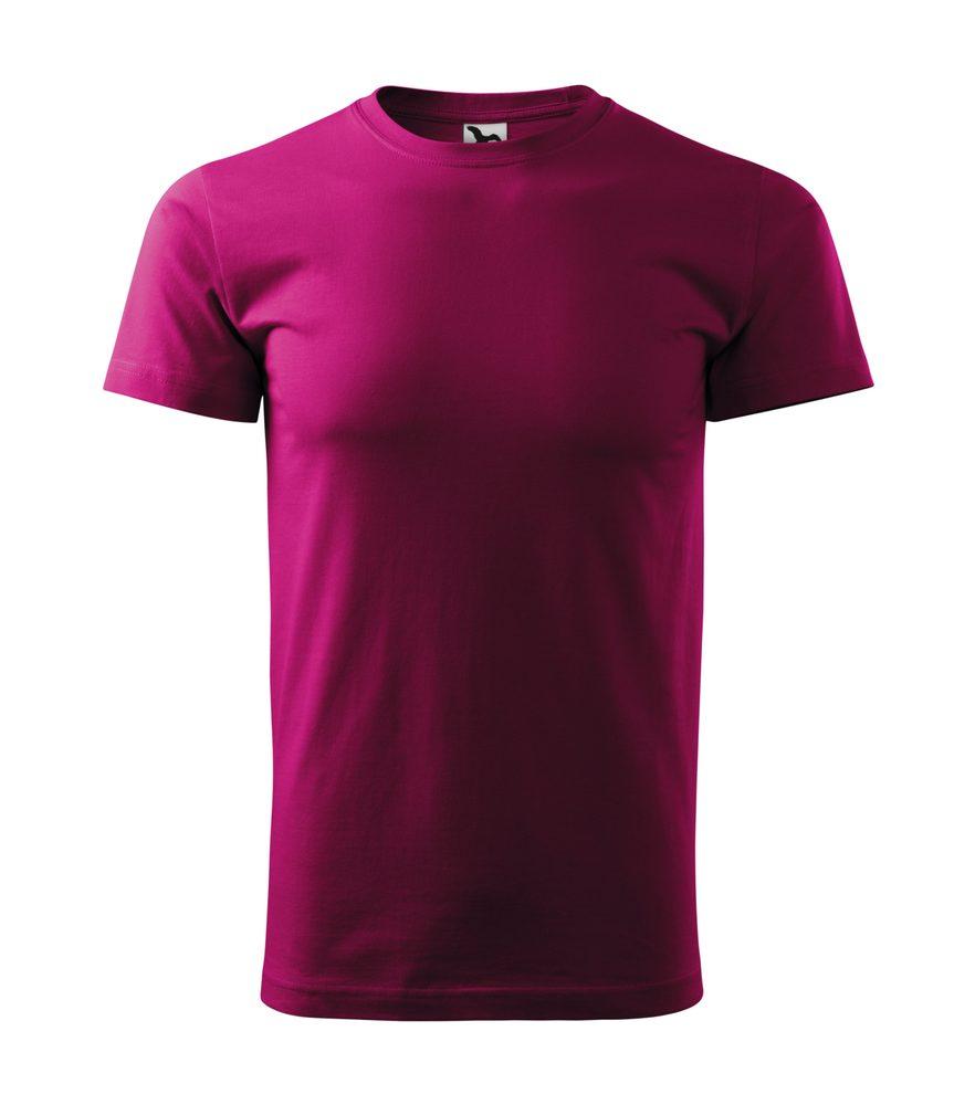 Adler Pánske tričko Basic - Světle fuchsiová | L