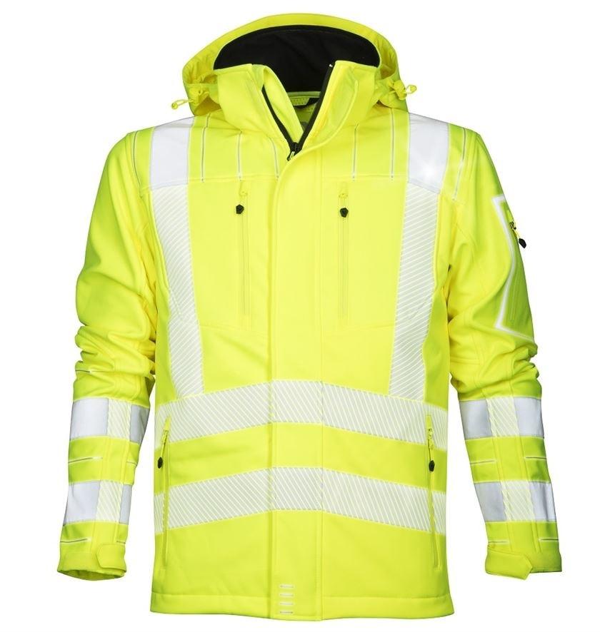 Ardon Reflexná softshelová bunda SIGNAL - Žlutá | XXL