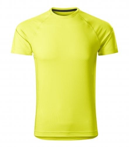 Pánské tričko Destiny - Neonově žlutá | L