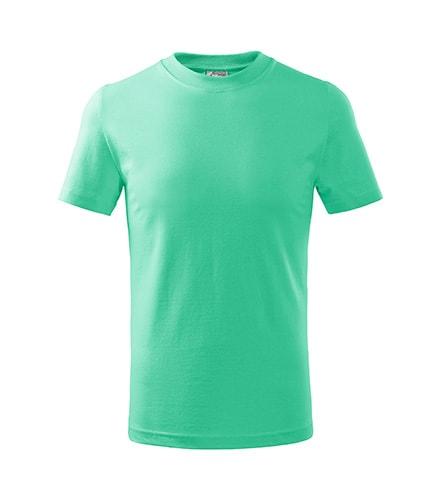 Adler Detské tričko Basic - Mátová | 158 cm (12 let)