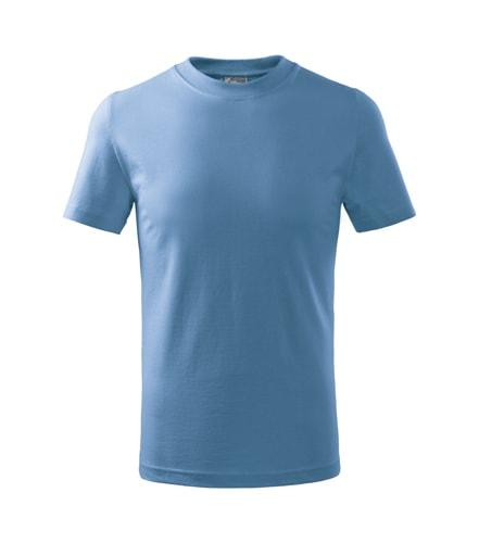Adler Detské tričko Basic - Nebesky modrá | 146 cm (10 let)
