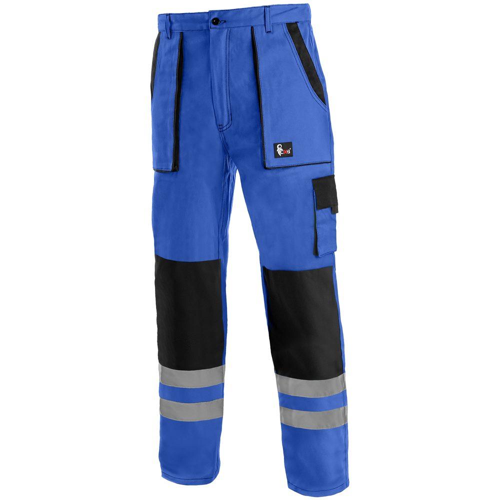 Canis Montérkové nohavice do pása CXS LUXY BRIGHT - Modrá / černá | 52