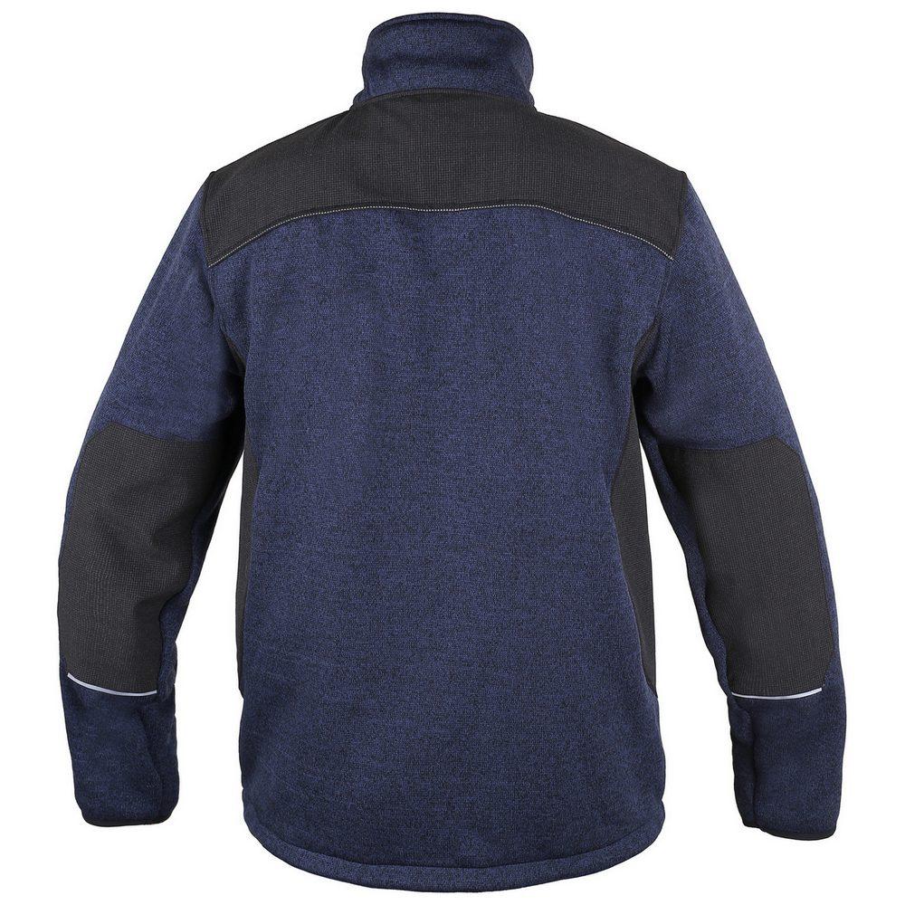 Canis Pánska bunda GARLAND - Modrá / černá   XL