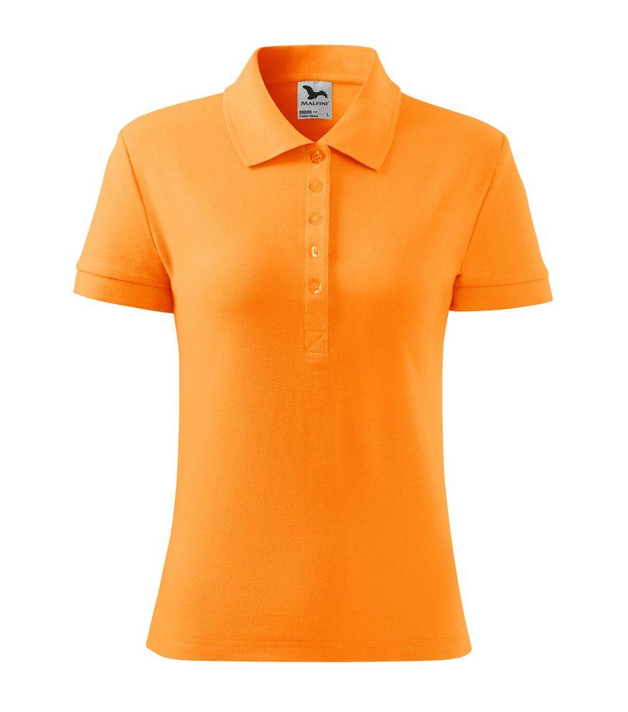 Adler Dámska polokošeľa Cotton Heavy - Mandarinkově oranžová | L