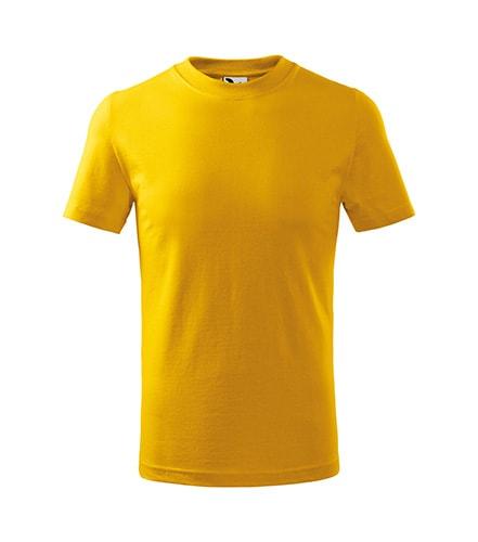 Adler Detské tričko Classic - Žlutá | 158 cm (12 let)