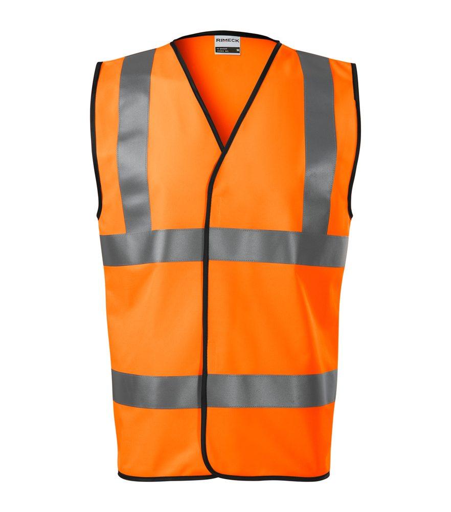 Adler (MALFINI) Bezpečnostná vesta HV Bright - Reflexní oranžová   XXL