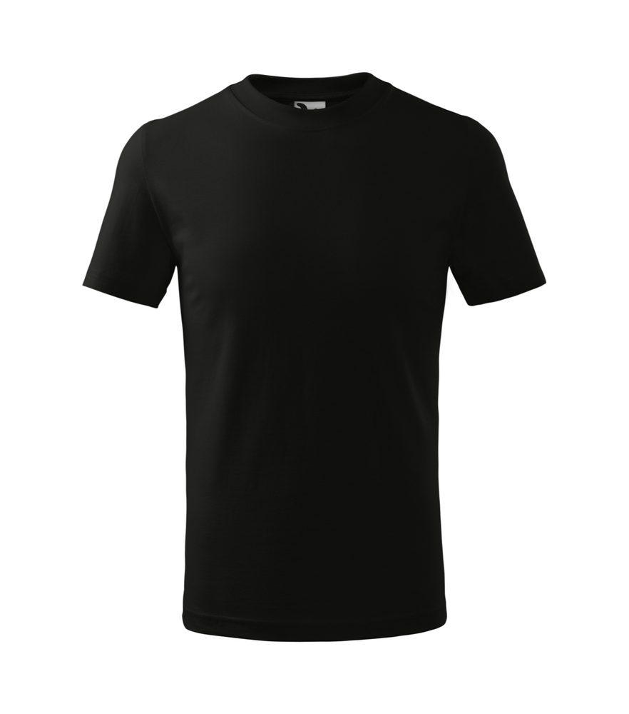 Adler (MALFINI) Detské tričko Basic - Černá | 146 cm (10 let)