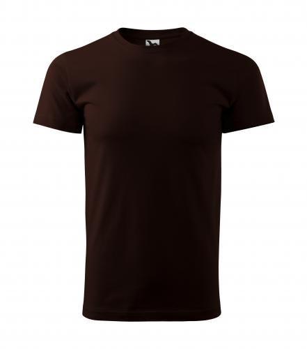 Adler Pánske tričko Basic - Kávová | S