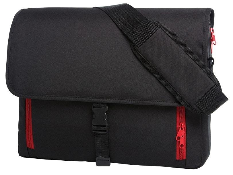 Halfar Veľká taška na notebook EFFECT - Červená