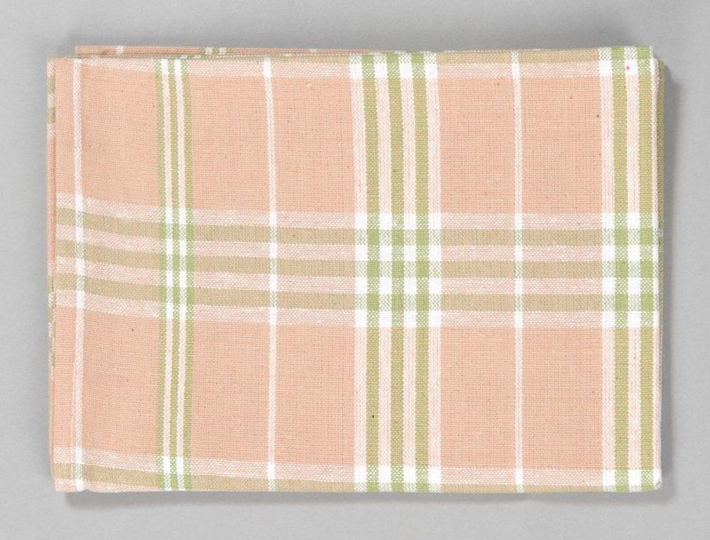 Dobrý Textil Kuchyňská bavlněná utěrka TINA - Zelená