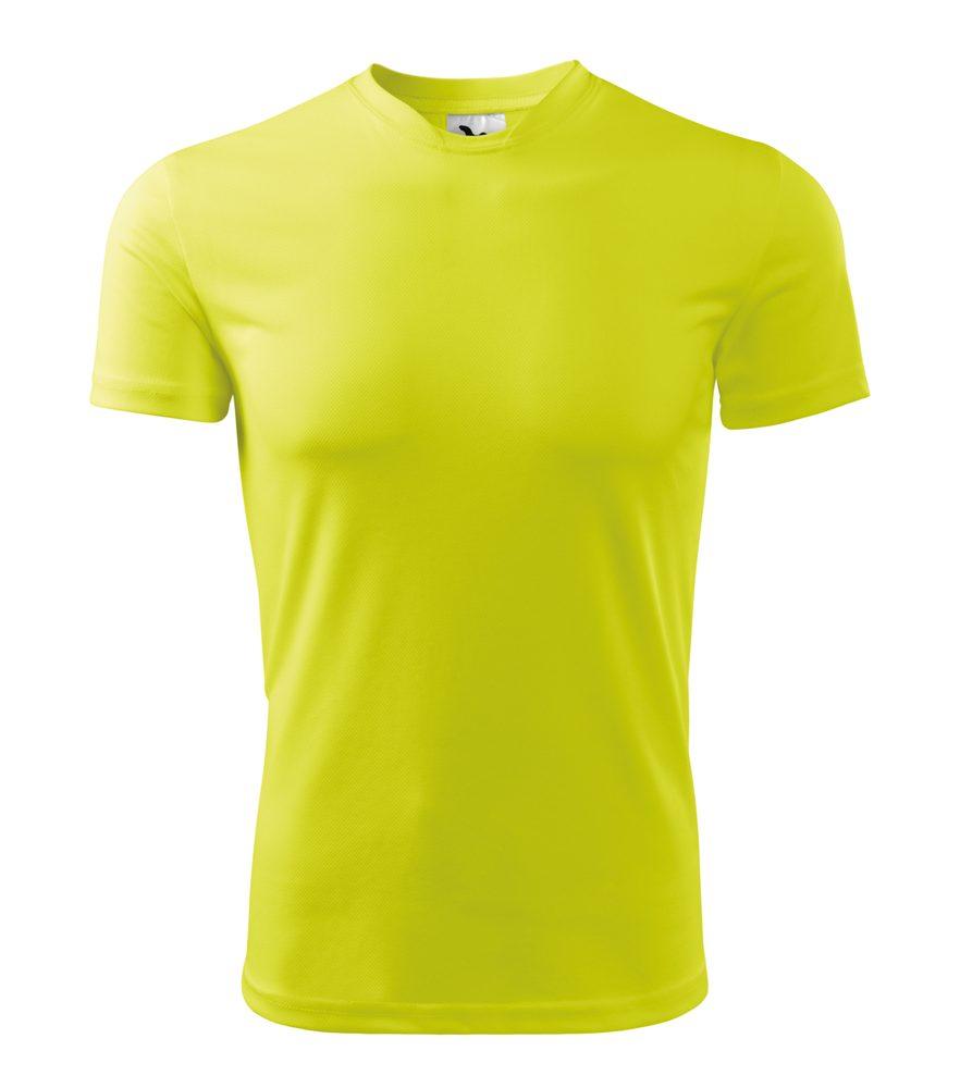 Adler Pánske tričko Fantasy - Neonově žlutá | XL