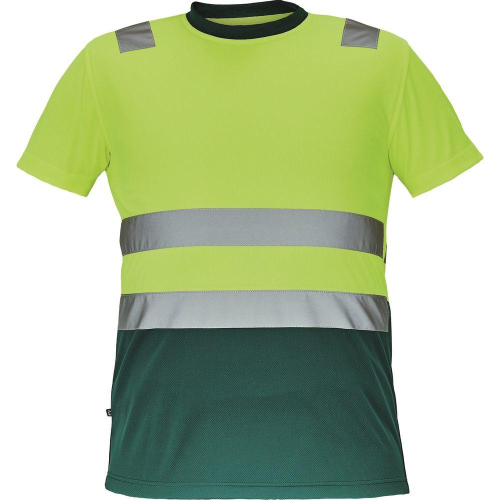 Cerva Pánske reflexné tričko MONZON - Žlutá / zelená | M