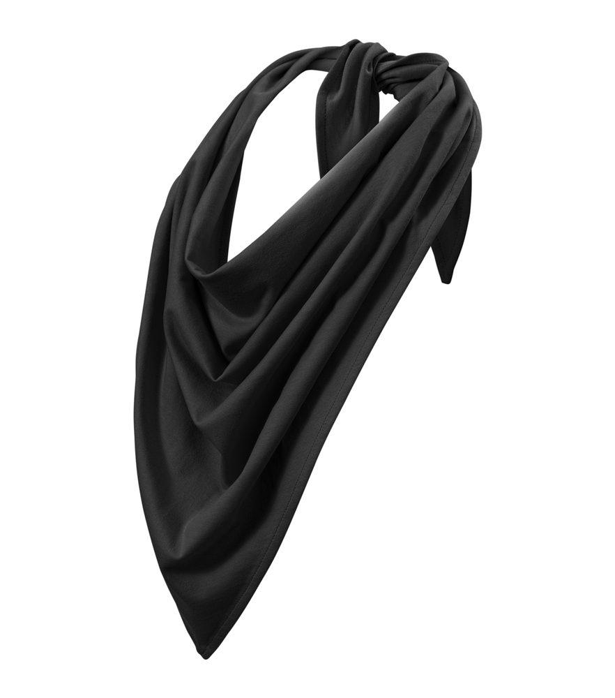 Adler (MALFINI) Šátek Fancy - Černá | uni