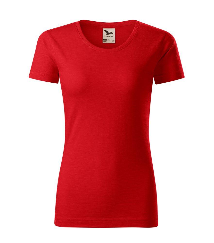 Adler (MALFINI) Dámske tričko Native - Červená   S