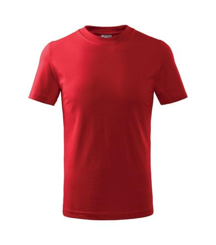 Adler Detské tričko Basic - Červená | 134 cm (8 let)