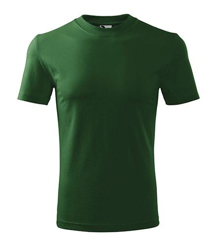 Adler Tričko Heavy - Lahvově zelená | XXL