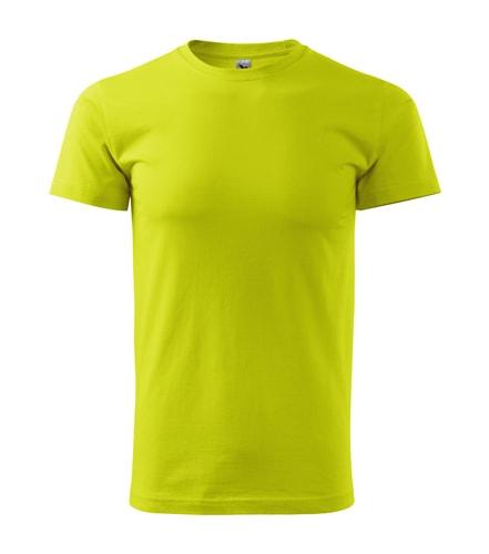 Adler Pánske tričko Basic - Limetková | S