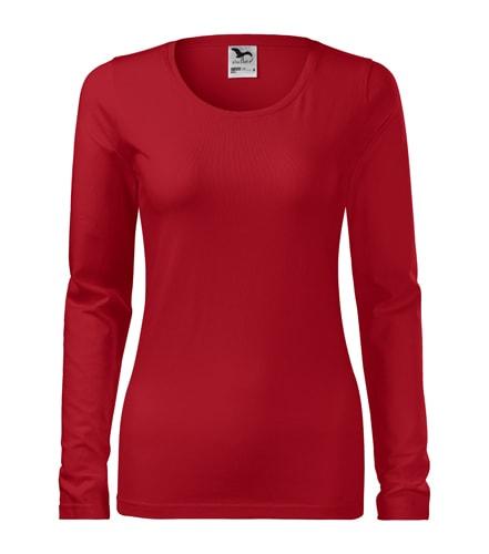 Adler Dámske tričko s dlhým rukávom Slim - Červená | L