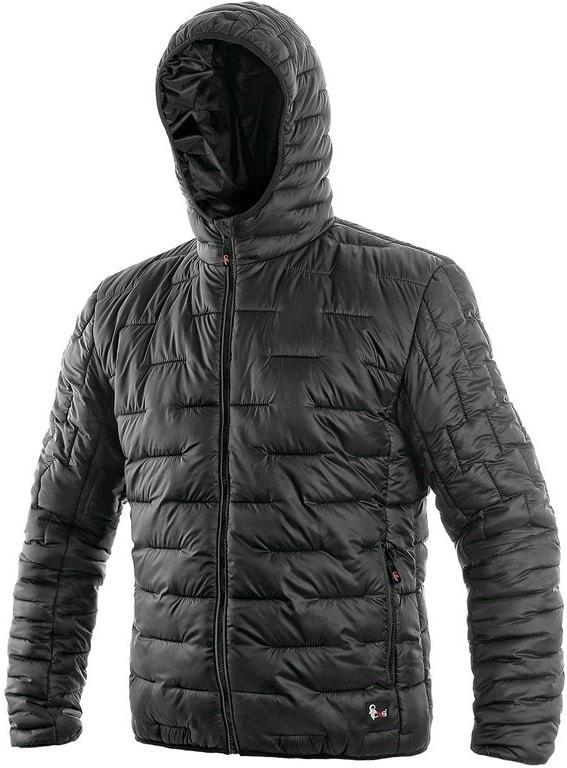 Pánská zimní prošívaná bunda LOUISIANA - Černá | XXXL