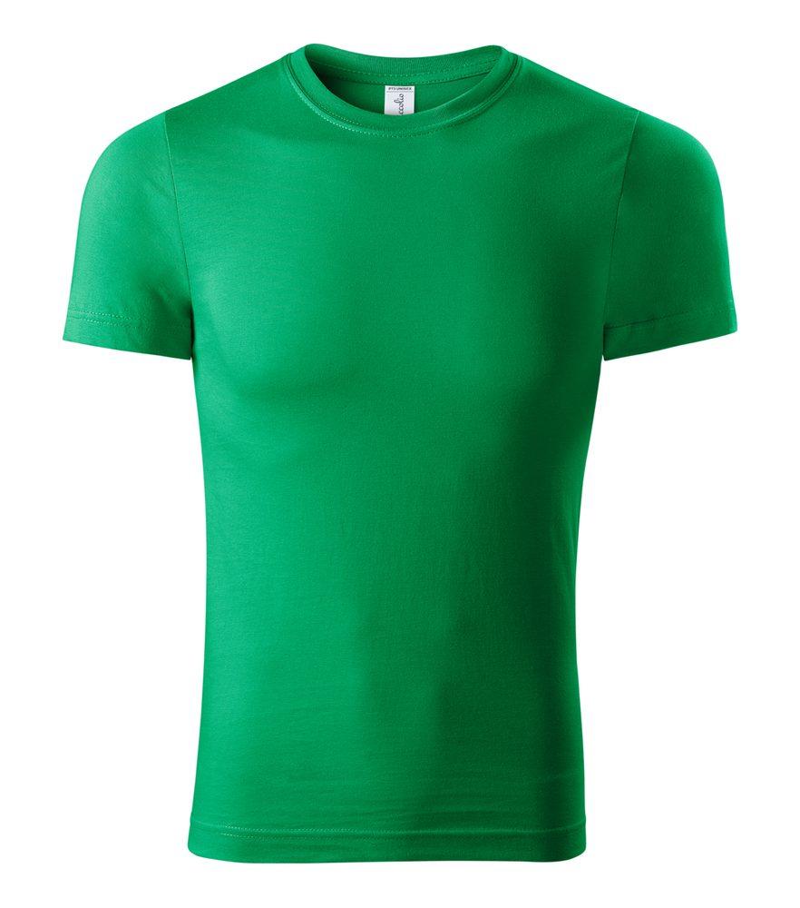 Adler (MALFINI) Tričko Paint - Středně zelená | L