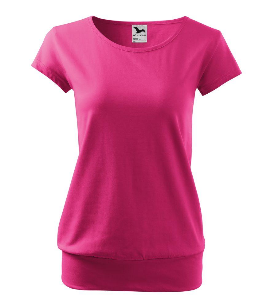 Adler (MALFINI) Dámske tričko City - Purpurová | S