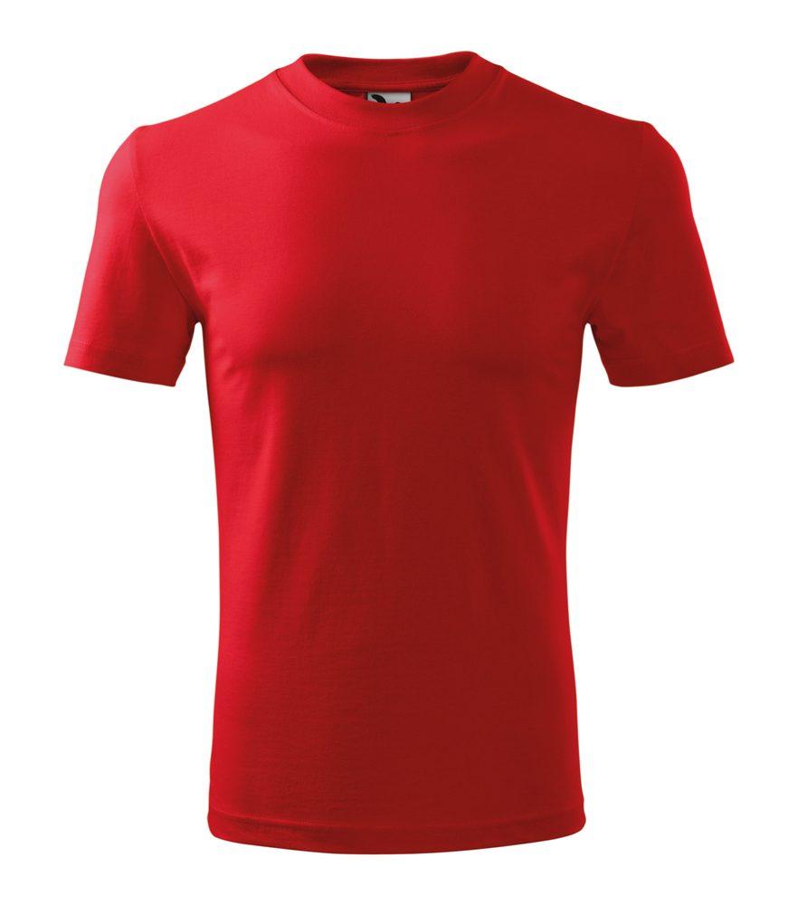 Adler Tričko Heavy - Červená | M