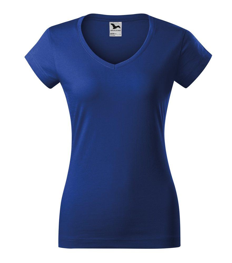 Adler Dámske tričko Fit V-neck - Královská modrá | XL