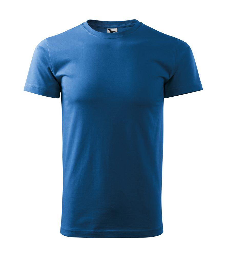 Adler Tričko Heavy New - Azurově modrá | XXXL