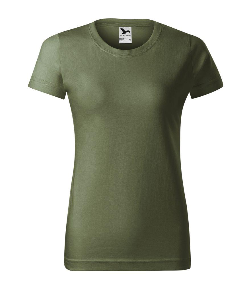 Adler Dámske tričko Basic - Khaki | L