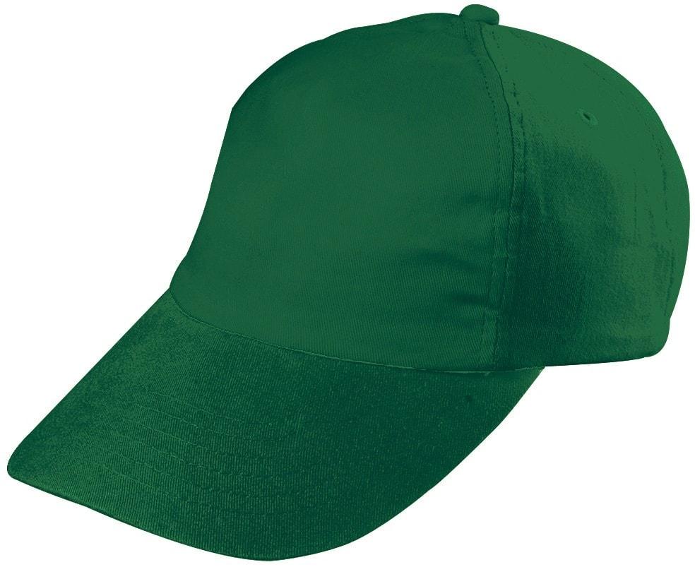 Dětská 5P kšiltovka MB7010 - Tmavě zelená