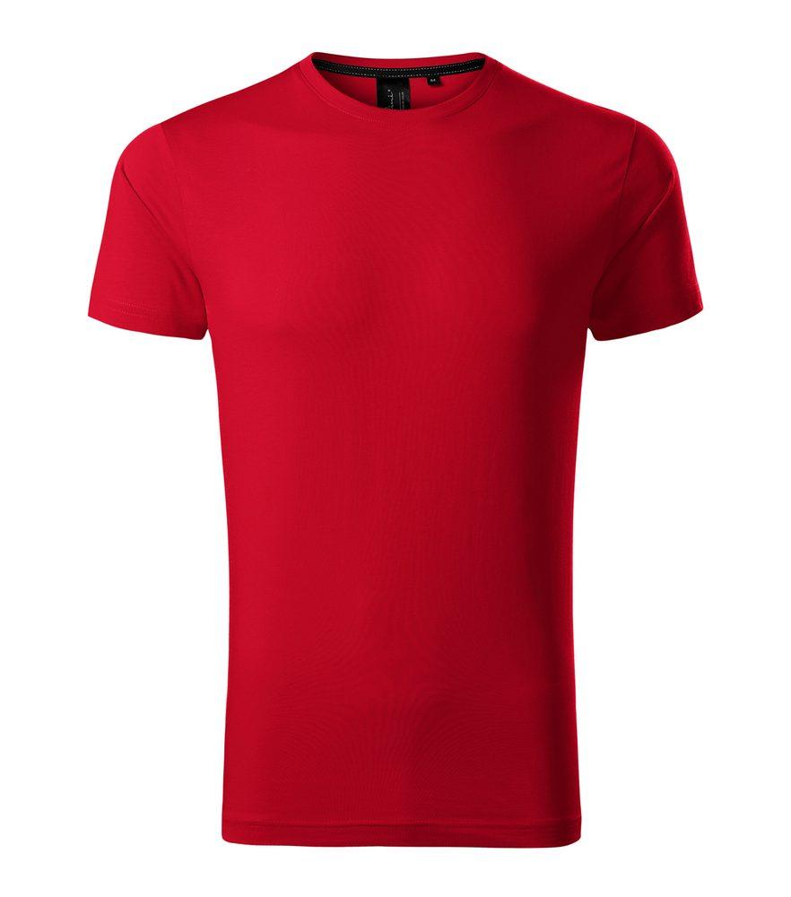 Adler Pánske tričko Malfini Exclusive - Jasně červená | S