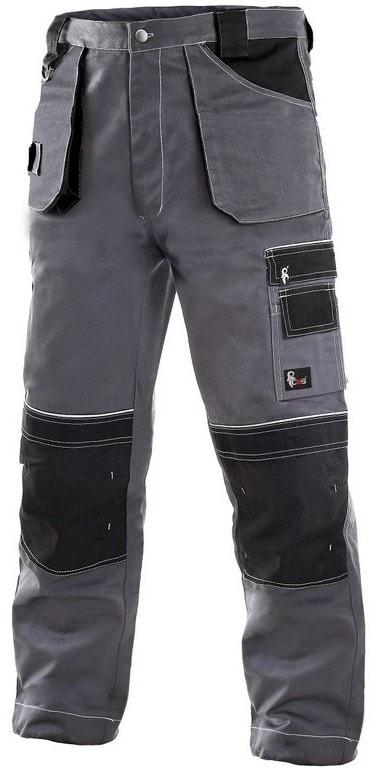 Canis Zimné pracovné nohavice do pása ORION TEODOR predĺžené - 48-50