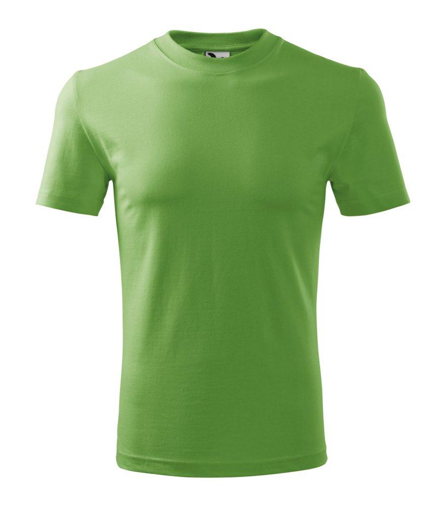 Adler (MALFINI) Tričko Heavy - Trávově zelená | XXL