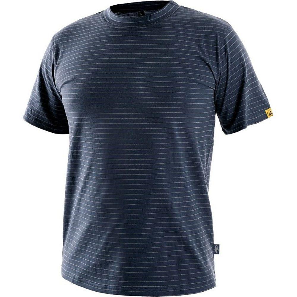 Canis Antistatické tričko ESD CXS NOME - Tmavě modrá   XXXL