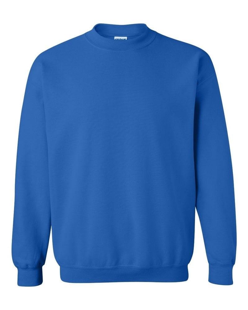 Gildan Mikina bez kapucne Gildan - Královská modrá | M