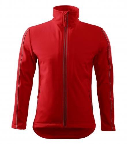 Adler Pánska bunda Softshell Jacket - Červená | XL