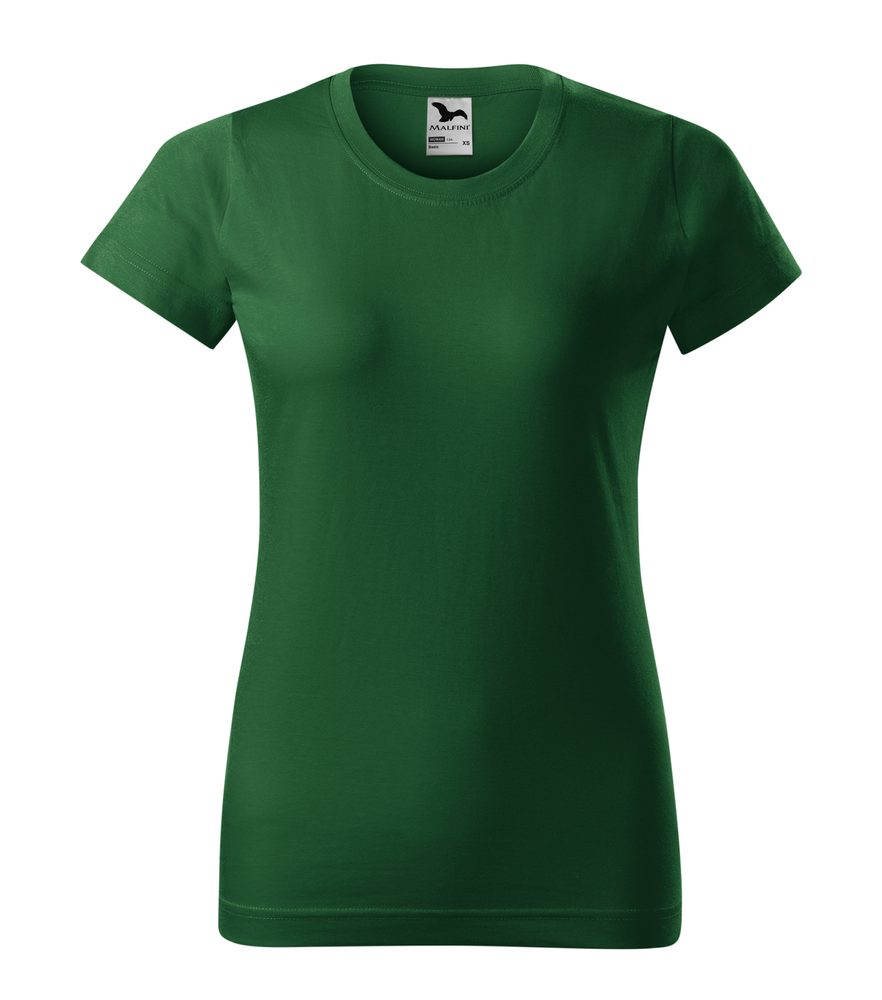 Adler Dámske tričko Basic - Lahvově zelená | XXL