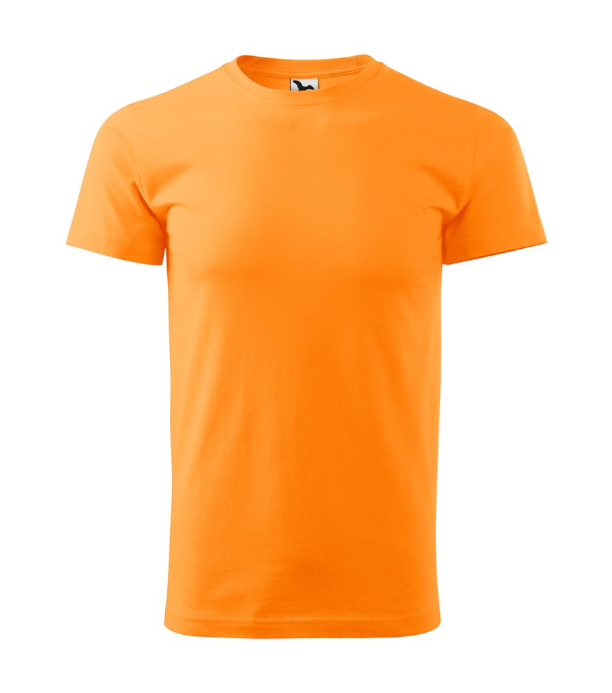 Adler Tričko Heavy New - Mandarinkově oranžová | XXXL