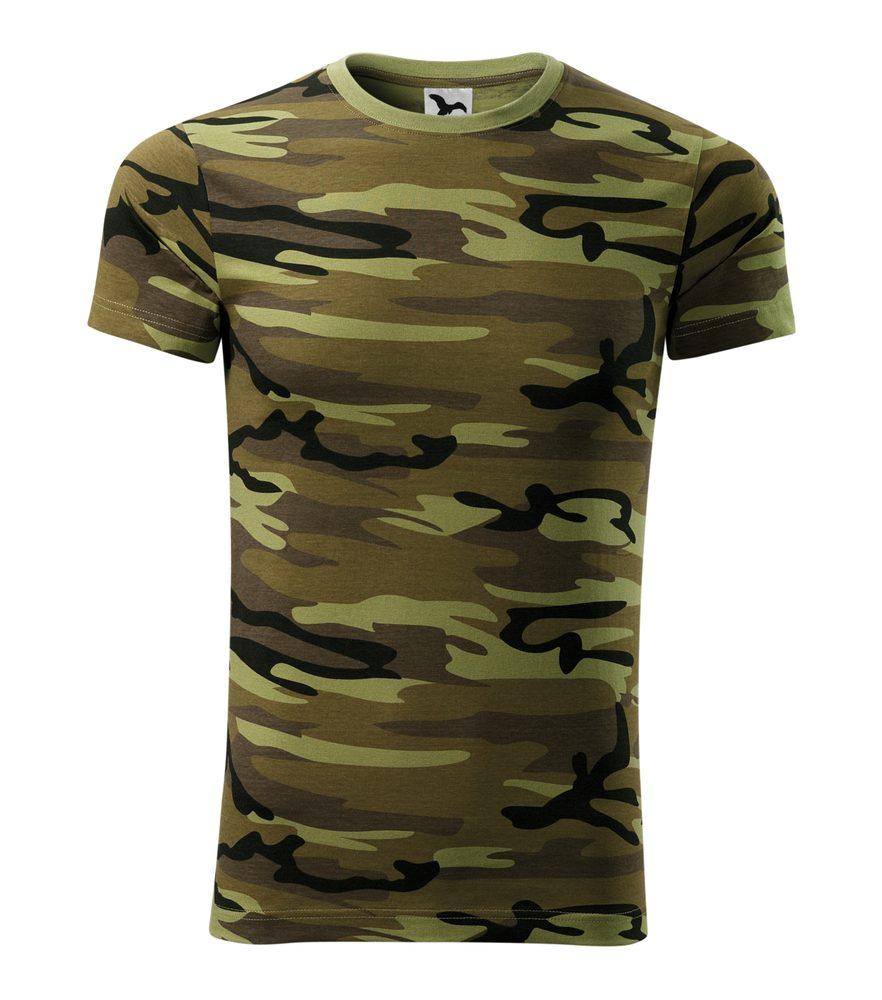 Adler Maskáčové tričko Camouflage - Maskáčová zelená | XXXL