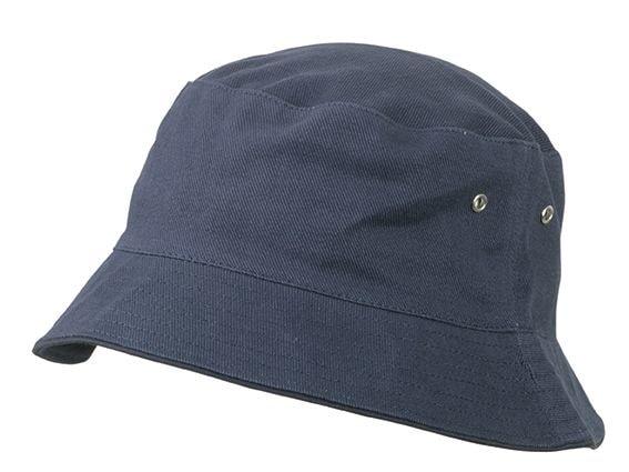 Bavlněný klobouk MB012 - Tmavě modrá / tmavě modrá | S/M