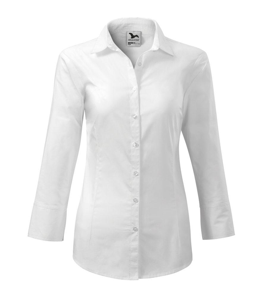 Adler (MALFINI) Dámska košeľa s trojštvrťovým rukávom Style - Bílá   XL