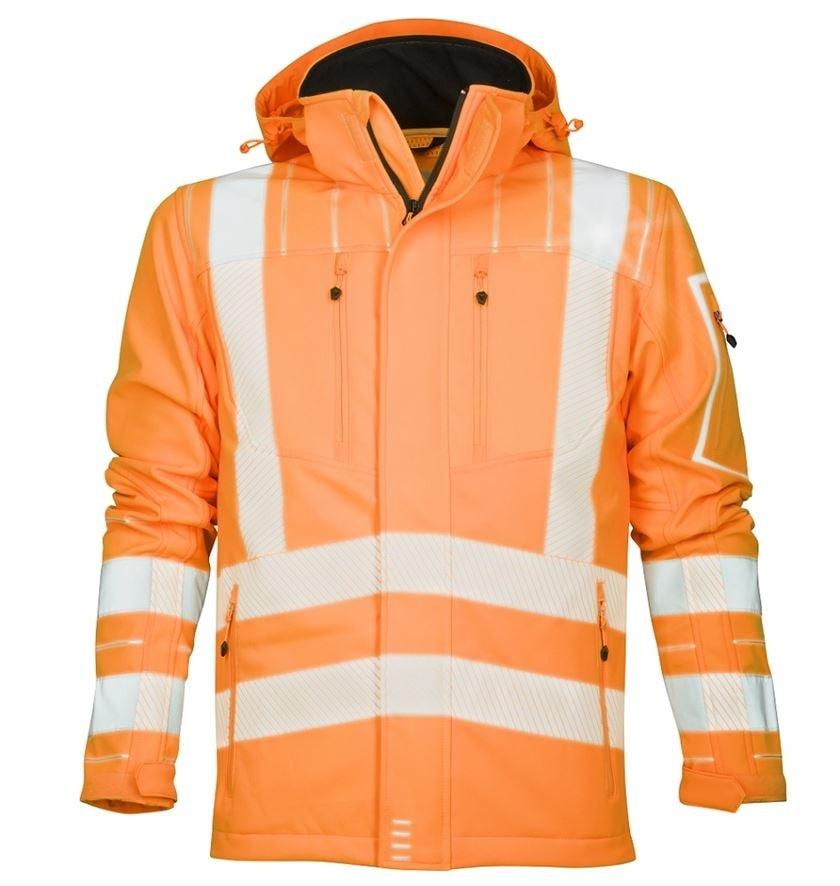 Ardon Reflexná softshelová bunda SIGNAL - Oranžová | XXL