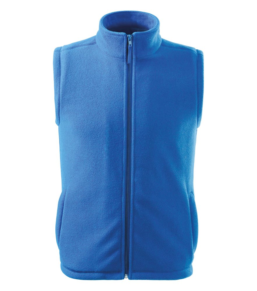 Adler (MALFINI) Fleecová vesta Next - Azurově modrá | L