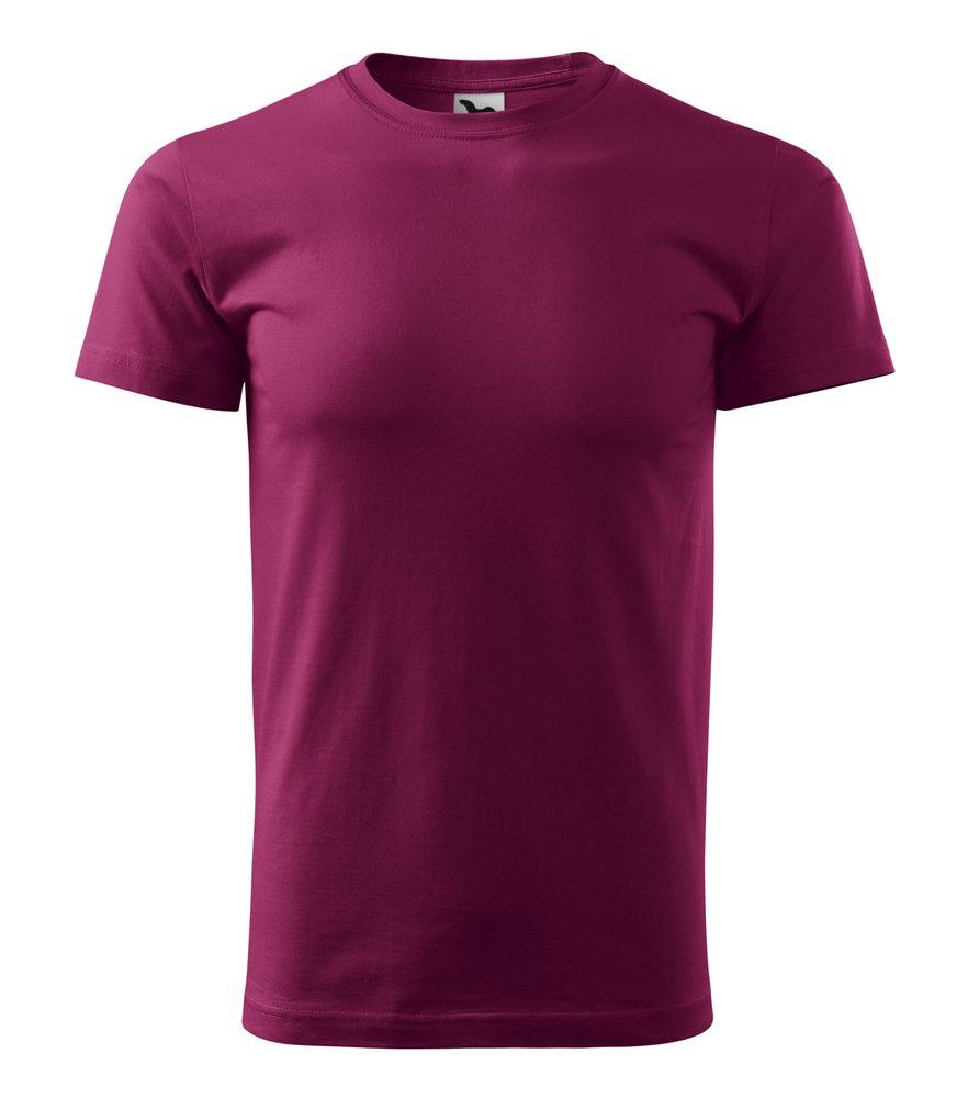 Adler Pánske tričko Basic - Fuchsiová | XXXL